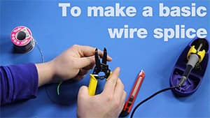 Image of Splicing and Tapping Wires – Another Teaching Moment
